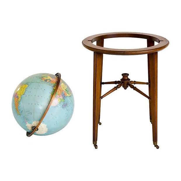 Mid-Century Kittinger Floor Globe - Image 4 of 7