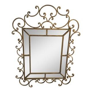 Kreiss Mirror Malaga Wrought Iron