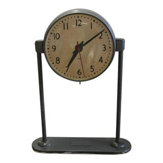 Vintage School Double Sided Clock
