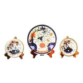 Early 19th Century Coalport Plates - Set of 3