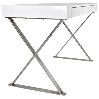 1960s Modern USA X-Based Desk