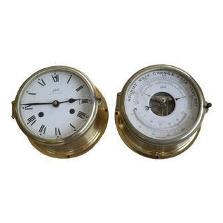 Schatz Maritime Clock and Weather Station