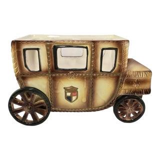 Vintage Royal Coach Valet Ceramic Box by Swank