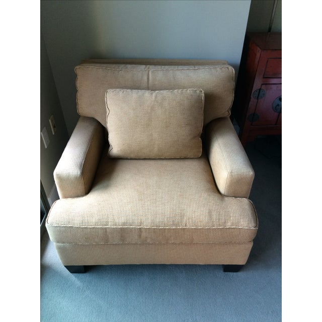 Barbara Barry Baker Lounge Chair & Ottoman - Image 4 of 8