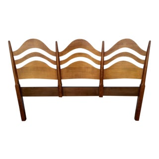Vintage Waved Headboard