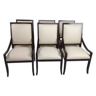 Modern Mid-Century Custom Dining Chairs - S/6
