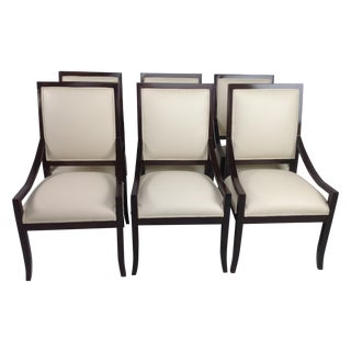 Modern Mid-Century Custom Dining Chairs - S/6