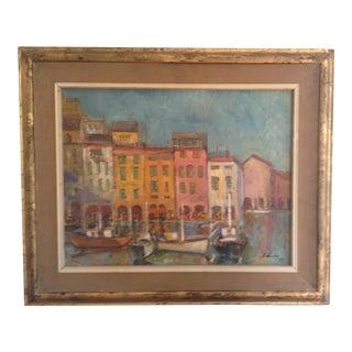 Italian Riviera Painting