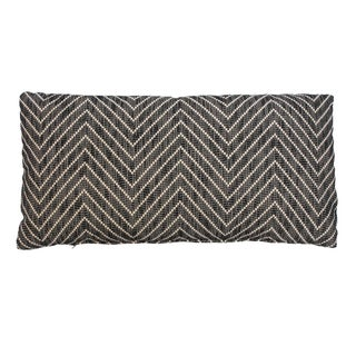 Gray Chevron Kidney Pillow