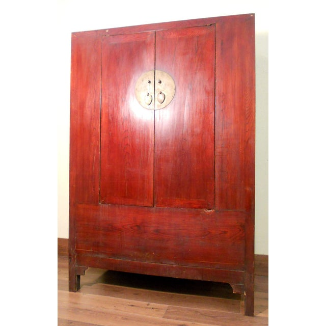 Image of Antique Chinese Cabinet Wedding Cabinet