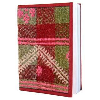 Gren & Red Plaid Kilim Journal