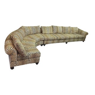 Leopard 2 Piece Sectional Sofa