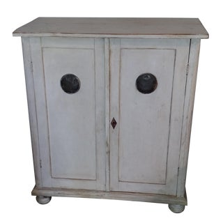 Antique Czech Pie Safe Cupboard