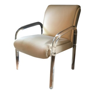 Leo Rosen for Pace Lucite Arm Chair