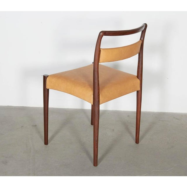 Danish Rosewood Dining Chairs - Set of 4 - Image 4 of 8