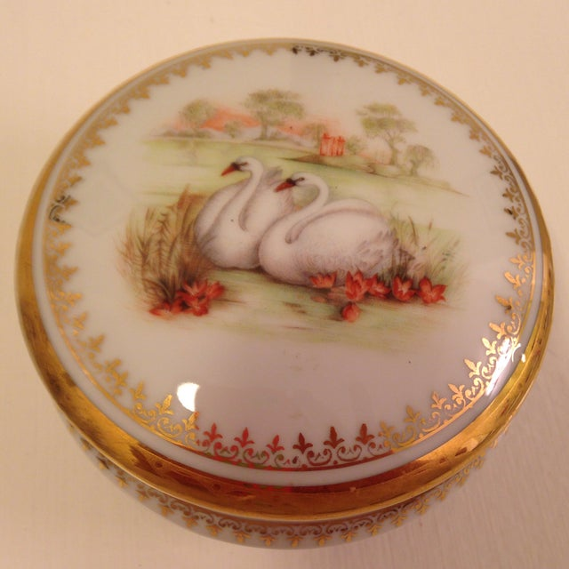 Vintage Swan Box - Image 6 of 6