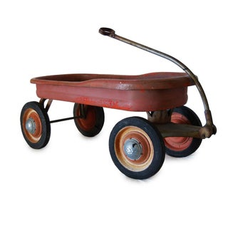 Vintage 1930 Mercury Red Wagon