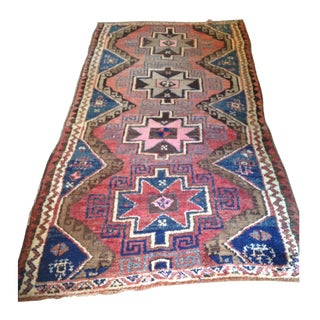 Vintage Turkish Rug - 4′8″ × 9′