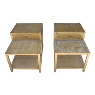 American of Martinsville Night Stands / End Tables - a Pair
