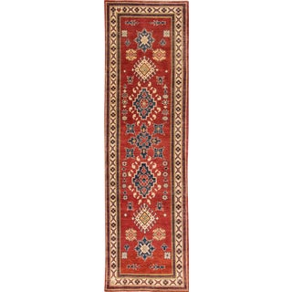 "Apadana - 21st Century Modern Kazak Runner Rug, 2'8"" x 9'6"""