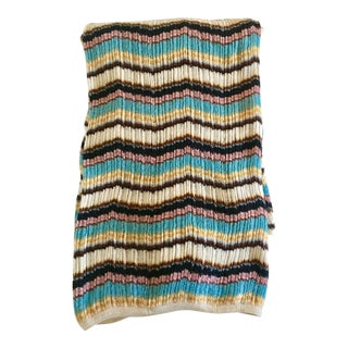 Missoni Chevron Wool Throw