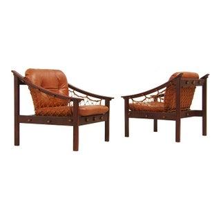 Amazonas Brazilian Jacaranda Sling Lounge Chairs