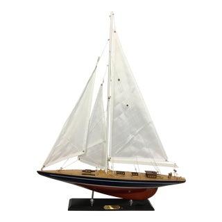 Enterprise Sail Boat Model