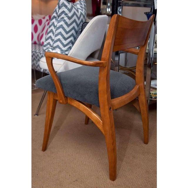Set of Six Heywood-Wakefield Dining Chairs - Image 5 of 10