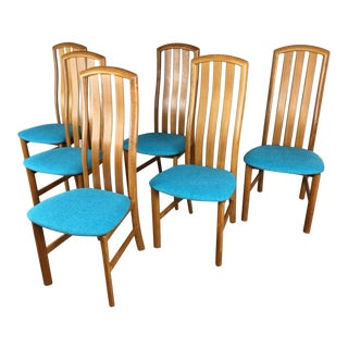 Skovby Teak Dining Chairs - Set of 6