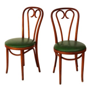 Bentwood Cafe Chairs - a Pair