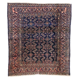 Antique Persian Traditional Modern Style Lilihan Rug - 3′10″ × 5′6″