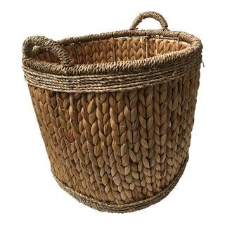 Woven Hyacinth Basket Great Decor