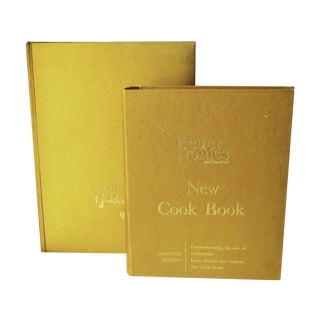 Vintage Better Homes Gold Cookbooks - Set of 2