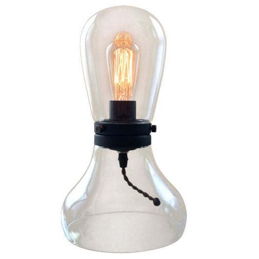 Image of Modern Glass Table Lamp