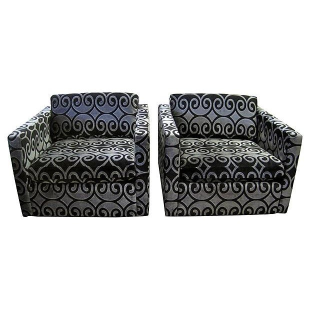 Image of C. Pfister for Knoll Club Chairs - Pair