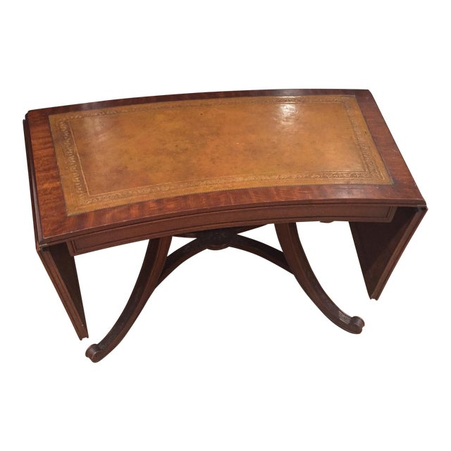 Antique Drop Leaf Coffee Table Chairish