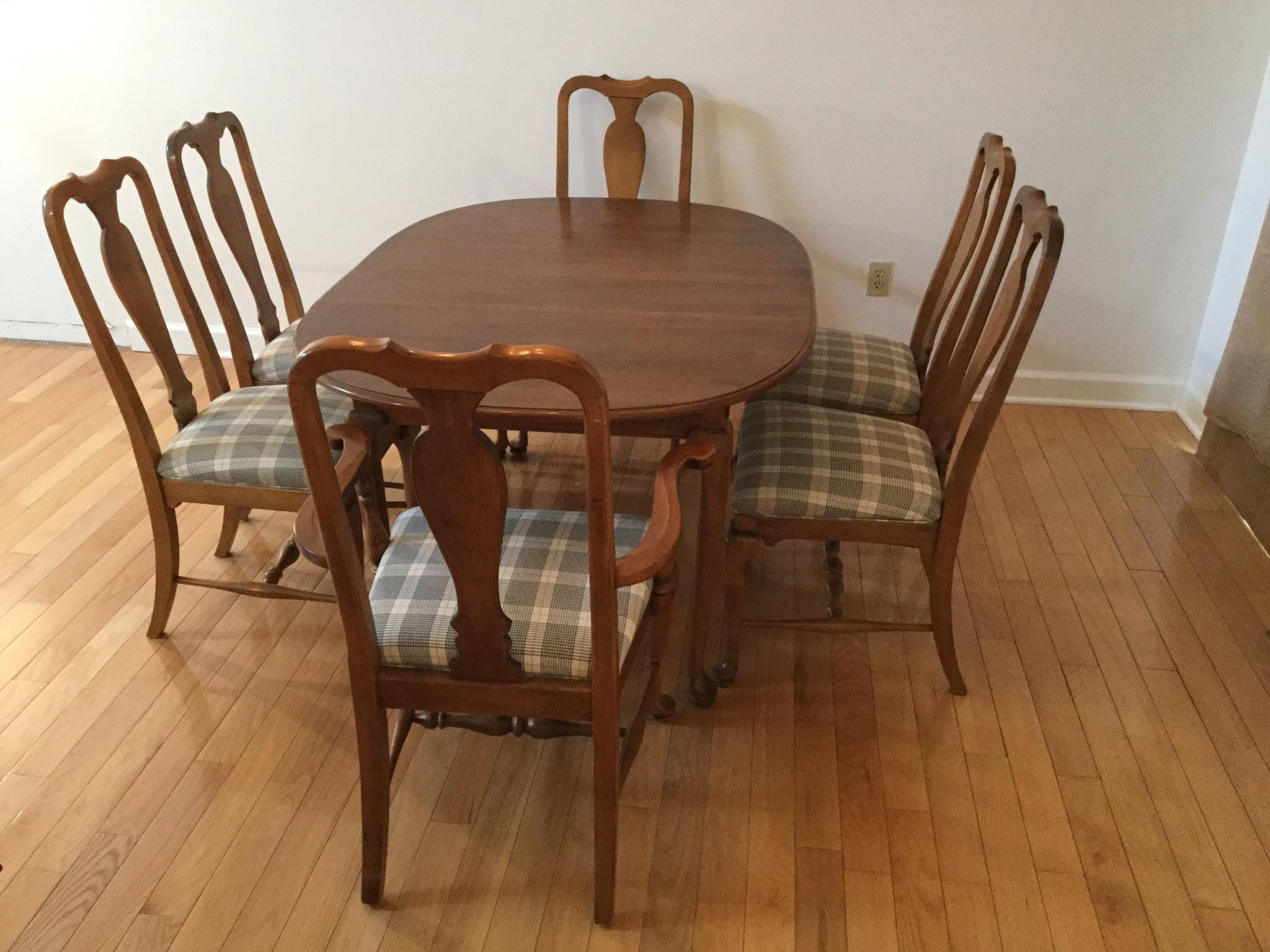 Ethan Allen Dining Set   Image 9 Of 11