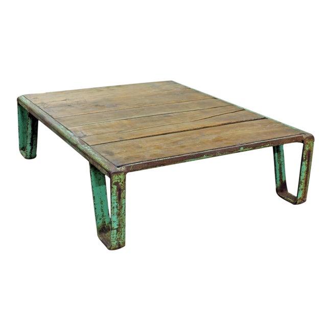 Image of Vintage Industrial Pallet Coffee Table