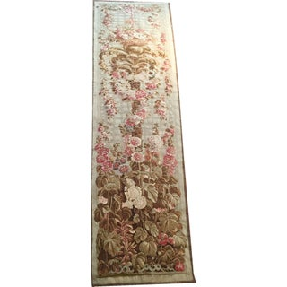 Antique Abusson Tapestry Panel