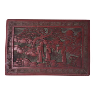 Chinese Red Keepsake Box