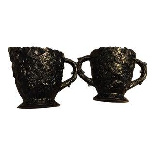 Westmoreland Bramble Sugar Bowl & Creamer - A Pair