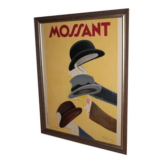 French Leonetto Cappiello Mossant Lithograph