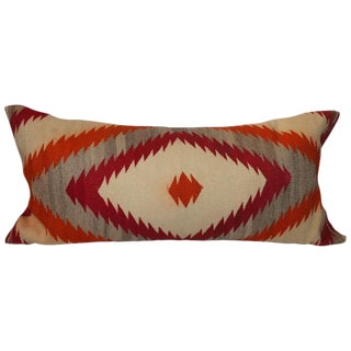 Large Navajo Eye Dazzler Bolster Pillow