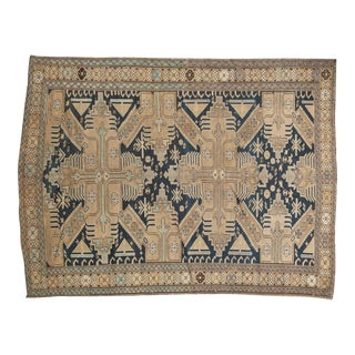 "Antique Caucasian Rug - 4'1"" x 5'4"""