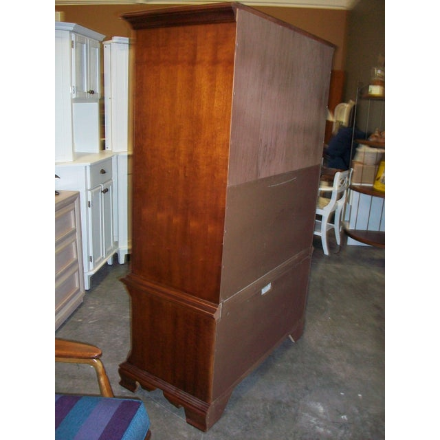 Thomasville Collectors Cherry Armoire - Image 8 of 11