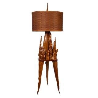 Cypress Knee Floor Lamp