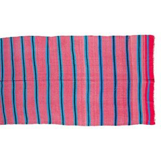 "Vintage Moroccan Kilim Carpet - 5'10"" X 10'4"""