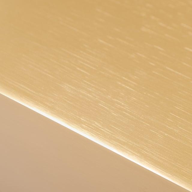Minimalist Brushed Brass Lamps by L. Paul Brayton Ltd. - Image 7 of 8