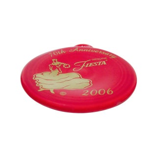 Fiesta Plate Fiestaware Ornament