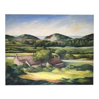 June Parrish Cookson Original Landscape Painting